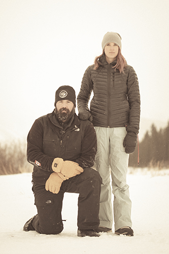 Jereme and Caitlin Arsenault - Snowy Owl Sled Dog Tours