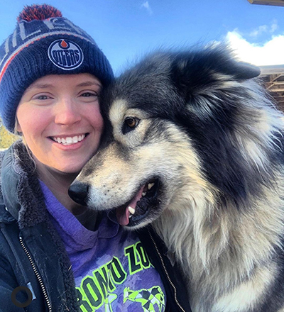 Kennel Manager at Snowy Owl Sled Dog Tours with Megadeath