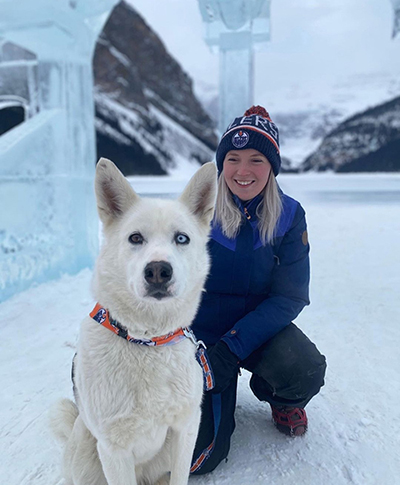 Mackenzie Kennel Manager at Snowy Owl Sled Dog Tours